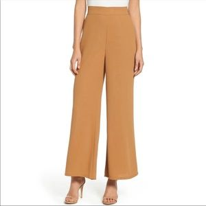 Leith Nordstrom Wide Leg Pants in Mustard